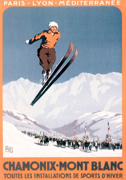 Ski posters from chamonix morzine val d 39 isere for Buy posters online cheap