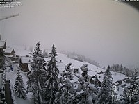 Snow arrives in the Alps!