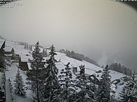 Snow at last in the Alps!