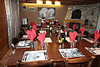 Ski Chalet Grand Athenaise dining room, skiing in Val d'Isere, France at Independent Ski Links
